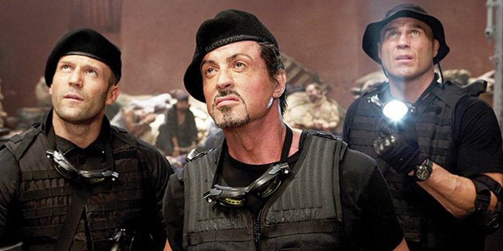 Couture expendables stallone and Statham