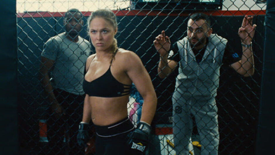 mma fighters in movies rounda rousey