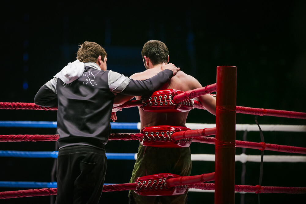 communication with boxing coach